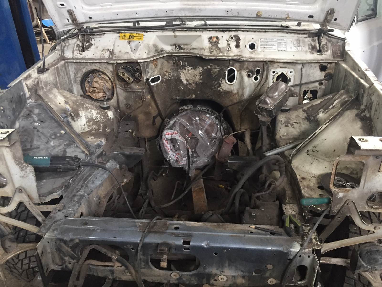 Джип Чероки/Jeep Cherokee Wagoneer XJ - Восстановление - до