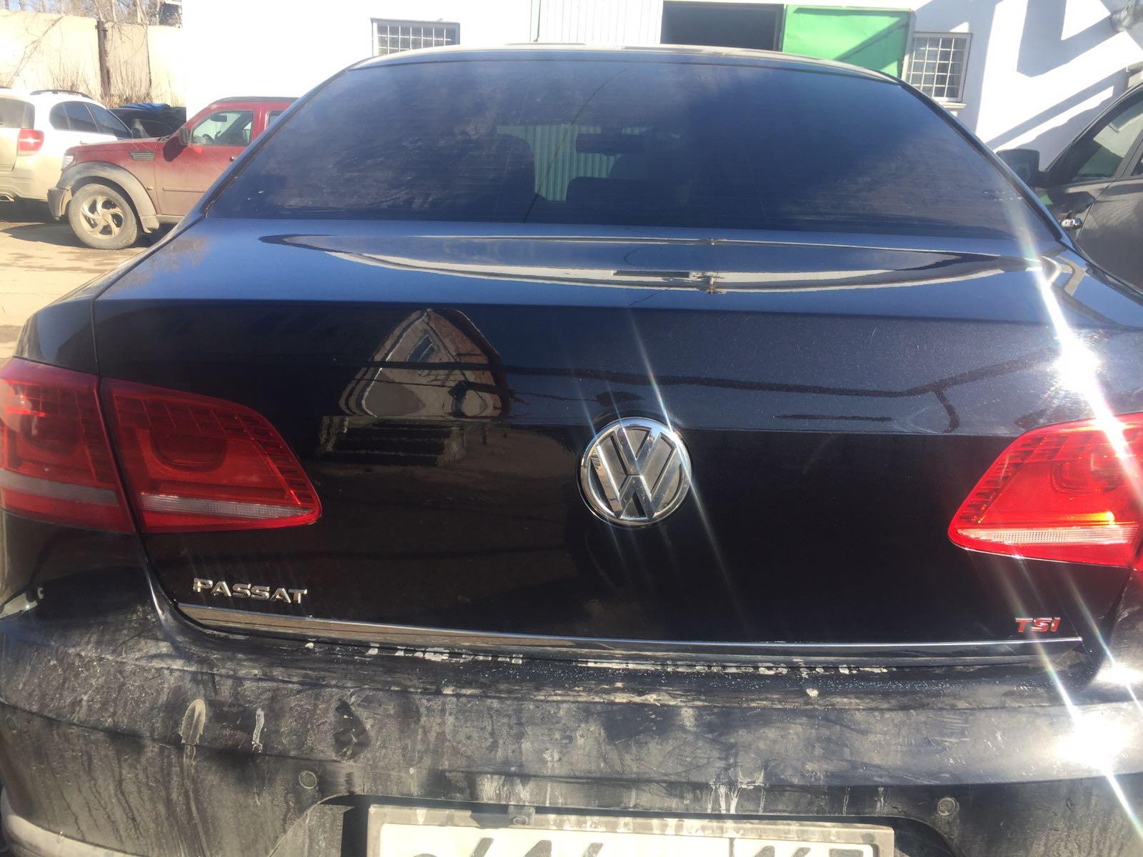 Фольксваген Пассат В7/Volkswagen Passat B7 - Локальная грунтовка и покраска - после