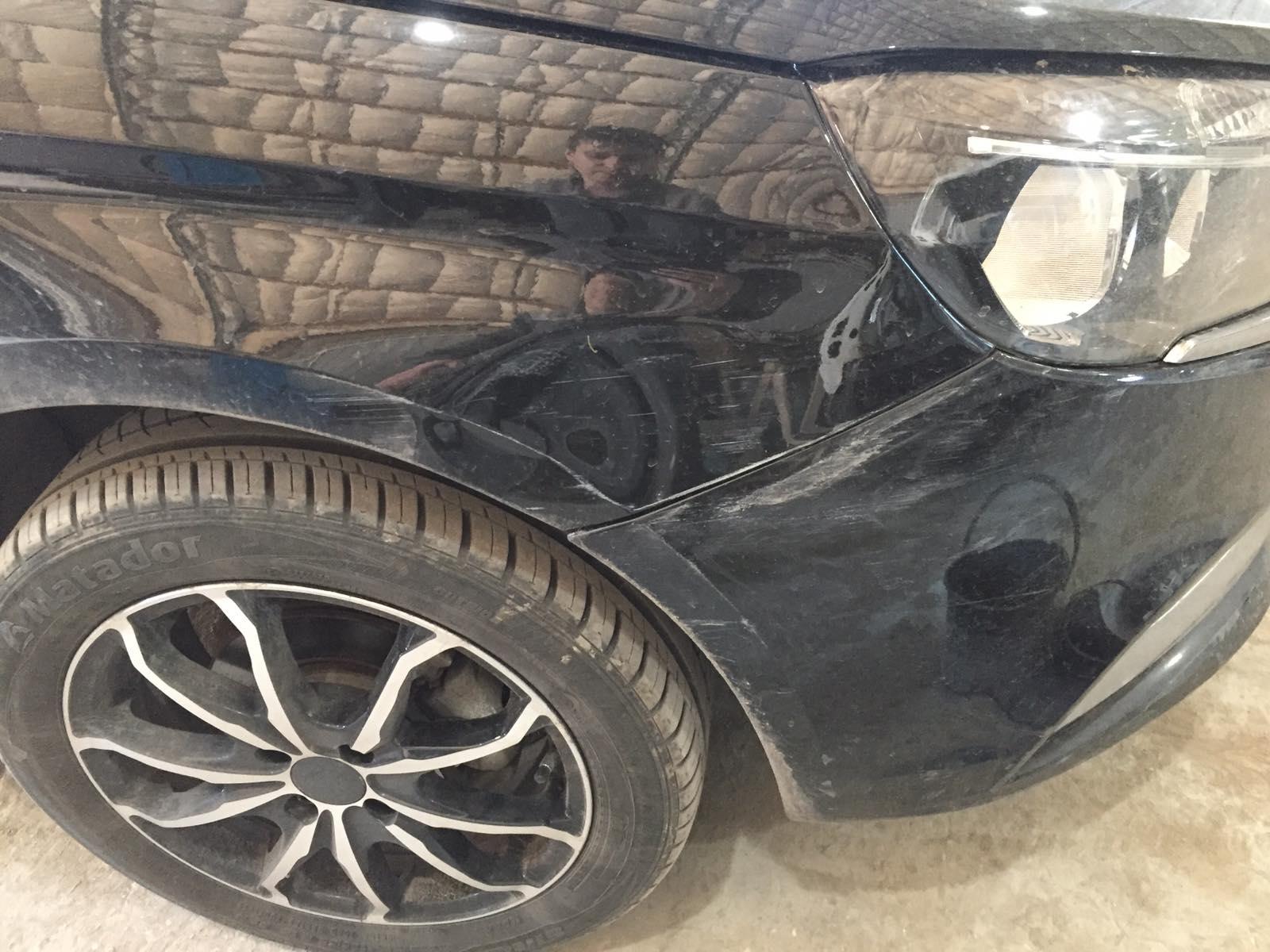 Лада Веста/Lada Vesta - Кузовной ремонт и локальная покраска двух элементов - до