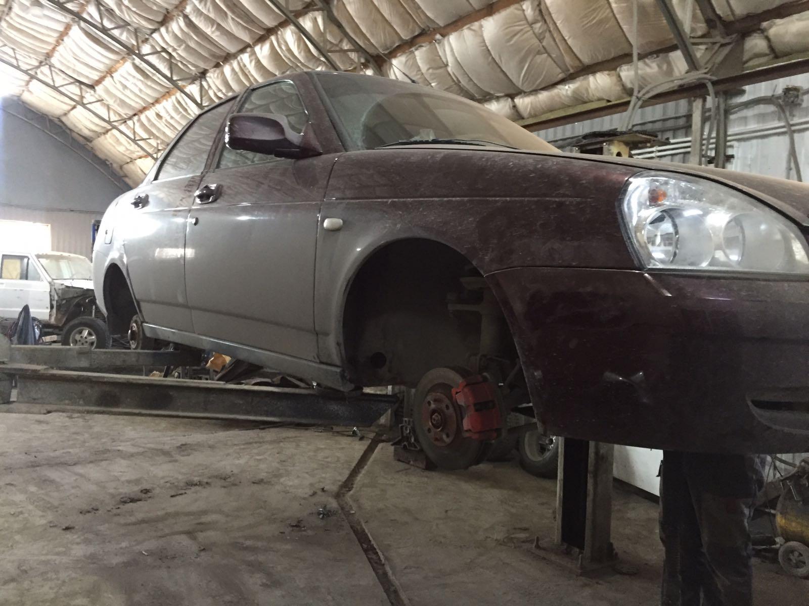 Приора/Priora - Кузовной ремонт и полный антикор - до