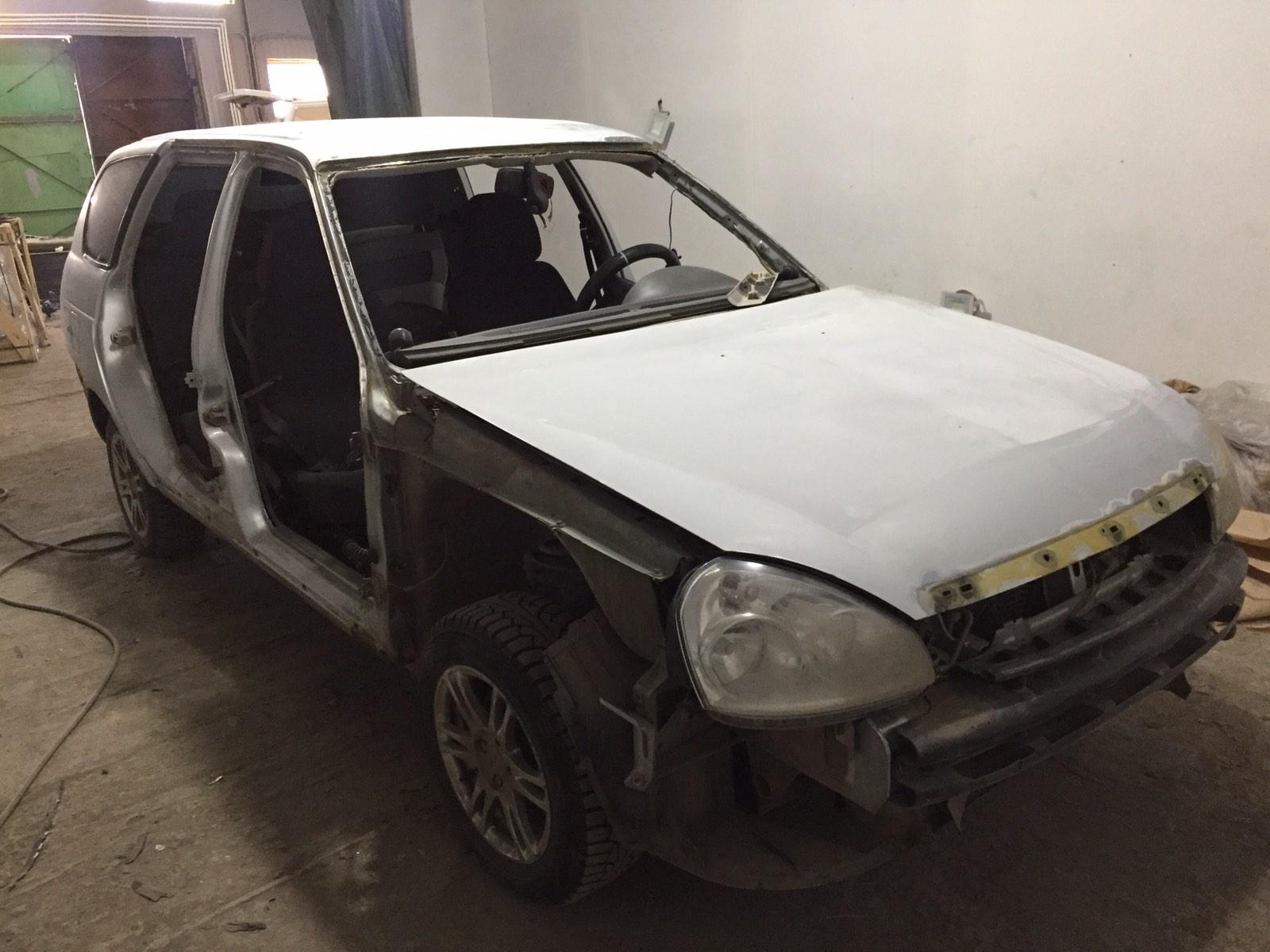 Приора/Priora Универсал - Обширный кузовной ремонт и антикор - до