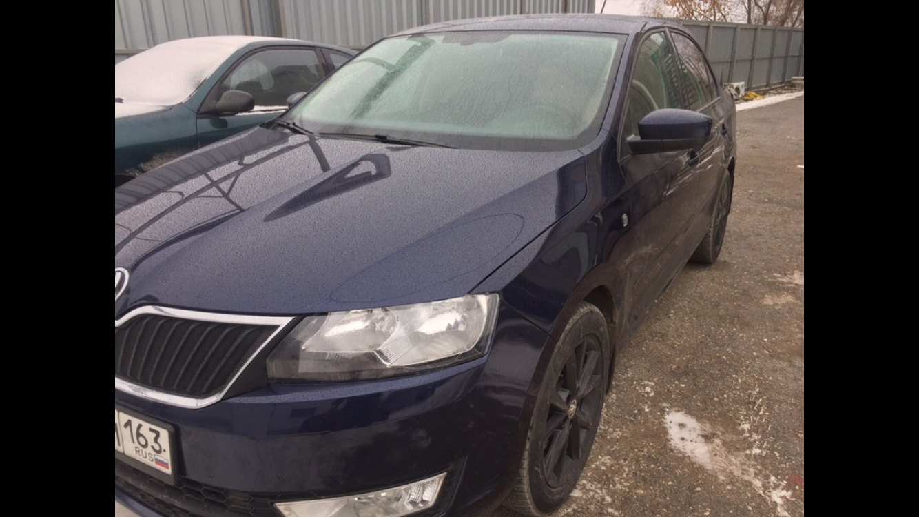 Шкода Рапид/Škoda Rapid - Кузовной ремонт - после
