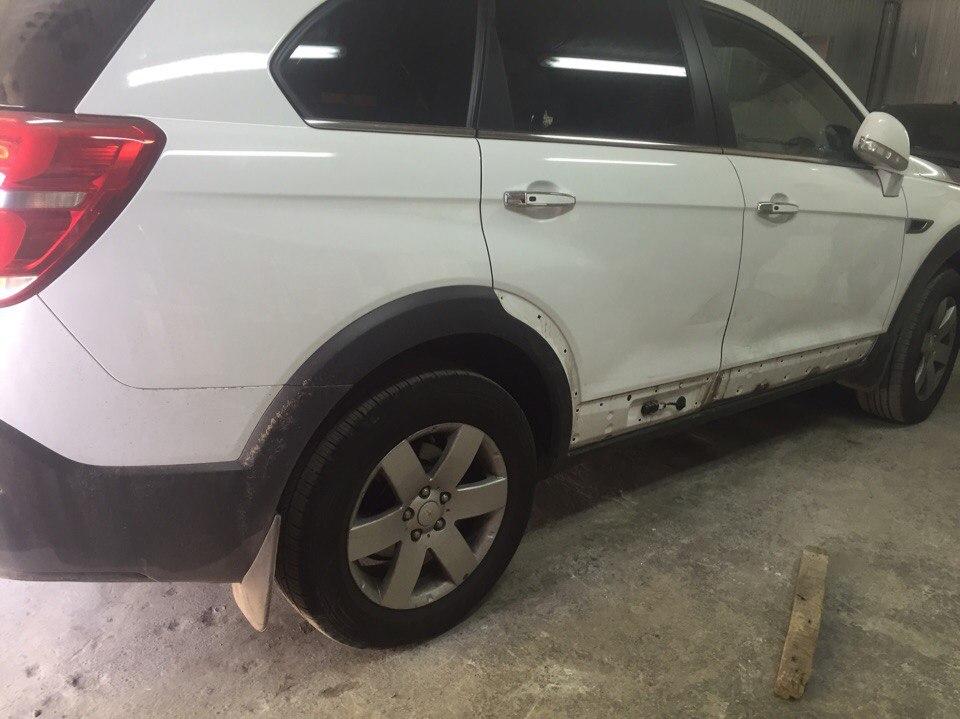 Chevrolet Передняя и задняя дверь - до
